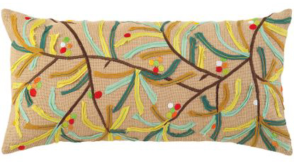 Twig Pillow, $90.