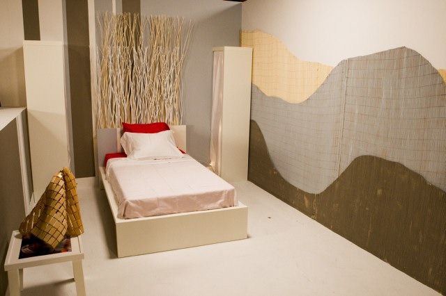 Alex Sanchez' bedroom design, inspired by Casey.