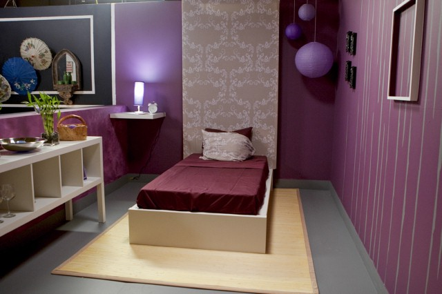 Courtland Bascon's bedroom design in episode one, inspired by Nina.