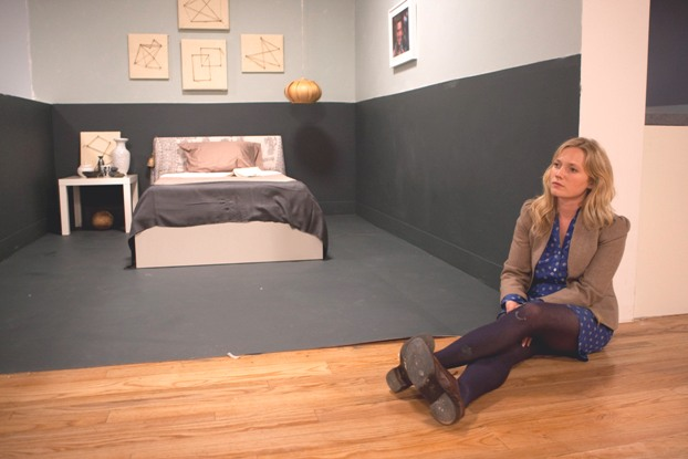 Emily Henderson's white room.  © 2010, HGTV