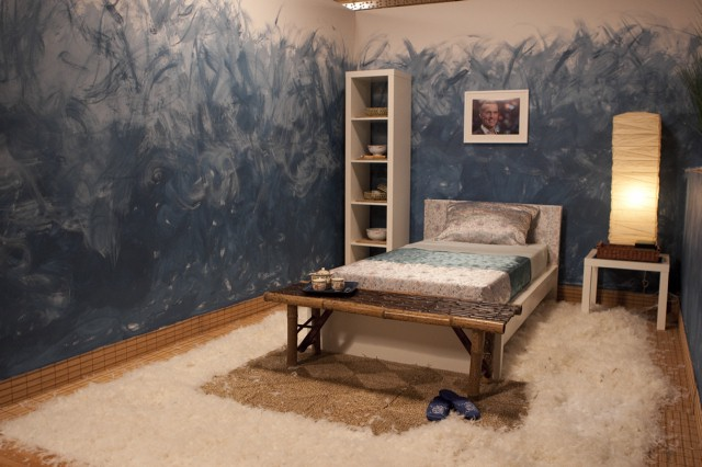 Julie Khuu's bedroom design, inspired by Tom.