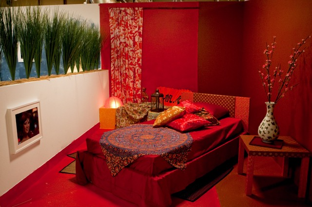 Tom Vecchione's bedroom design, inspired by Julie.