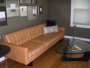 Room And Board Leather Sofa Rooms