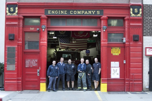 NYC's Engine Company 5, home of the Red Team's makeover project in the fifth episode.