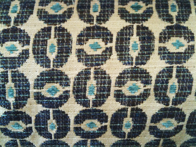 Chain Link in Denim/Cream, $18.99/yard.