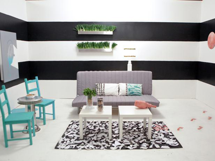 Kellie Clements' white room challenge design.