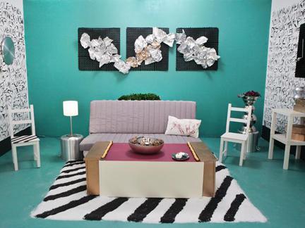 Leslie Ezelle's white room challenge design.