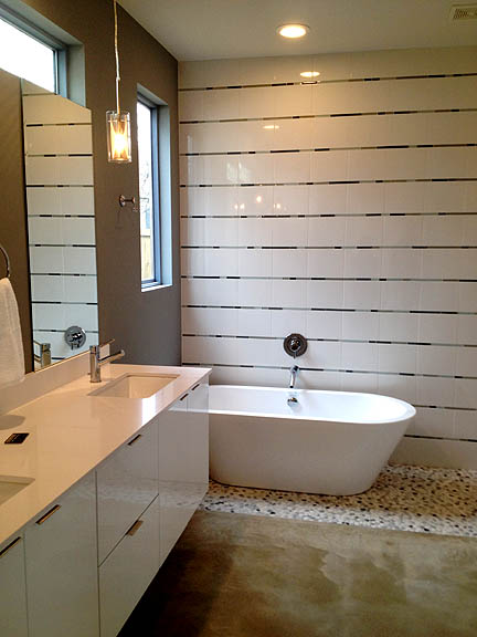 This Is A Great Way To Stretch Your Bathroom Budget And Create A Ton Of Impact