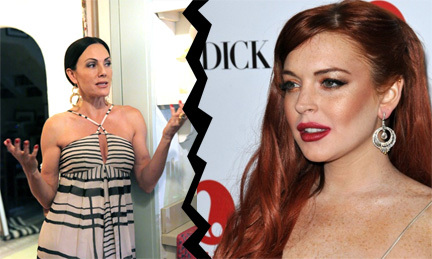 Lindsay Lohan Don T Do Decorating Shows Fool