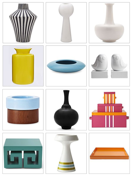 jonathan adler happy chic mid-century decorative accessories jcpenney