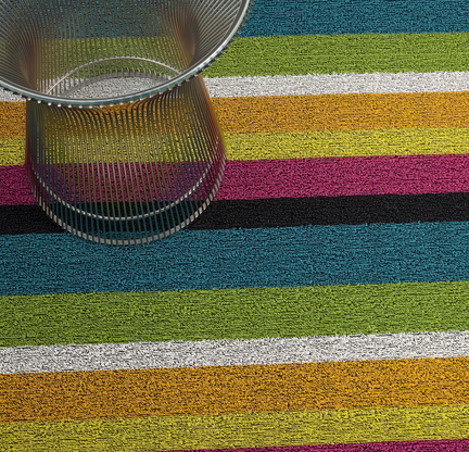 Exceptional Bold Stripe Indoor/Outdoor Mats ...