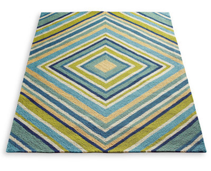 Spring Fever Modern Outdoor Rugs