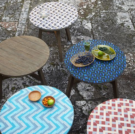 Mosaic Tiled Bistro Tables From West Elm 399 Coffee Table Versions