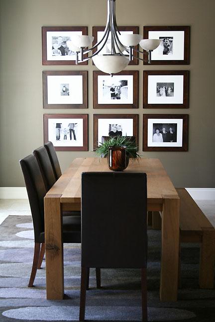dining room neutral tones natural wood crate barrel web