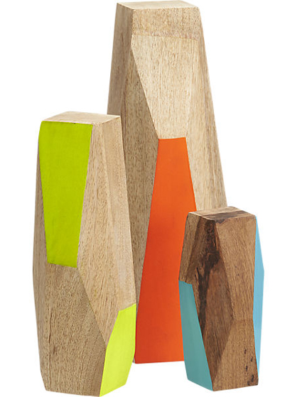Three-Piece Mango Wood Guardian Set, $69.95.