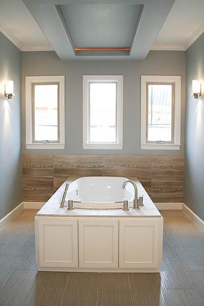 benton_master_bath_tub_marble_penny_tile_neutral_modern 1