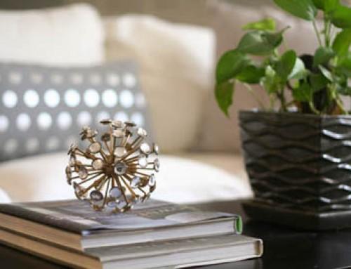 White, Slipcovered and Serene Living Room
