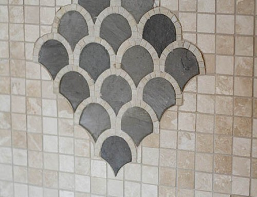 Butler's Pantry Tile Detail