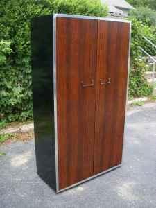 Vintage Milo Baughman armoire, $500
