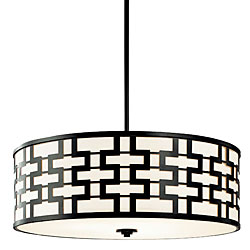 Geometric Hanging Shade, $159.99