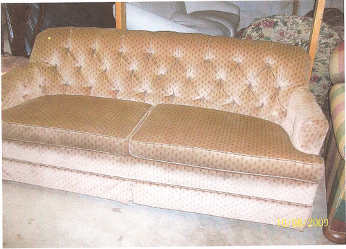 Sofa, BEFORE