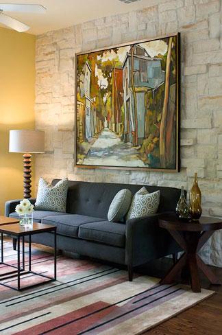 Austin Artistic Sitting Room Redeisgn