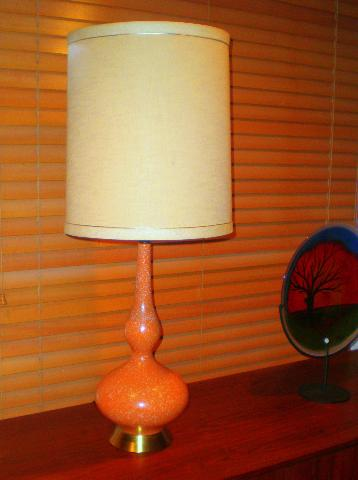 Mint condition vintage lamp, $60.