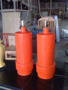 Pair of mid-century lamp bases, $100.