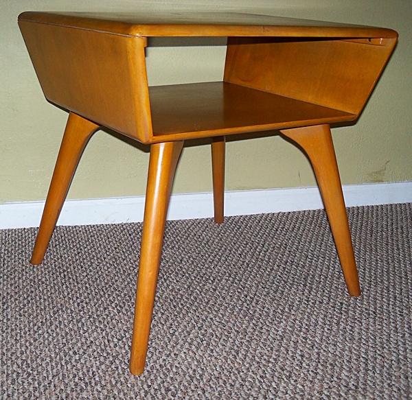 Heywood Wakefield side table, $175.