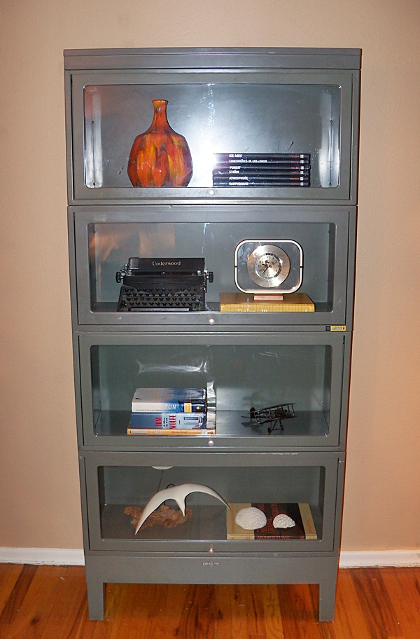Steel barrister's bookcase, $595.
