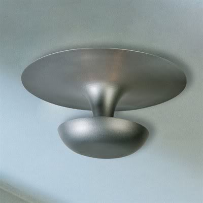 Space age light fixture, $55.