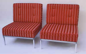 Pair of supercool chairs, $400.