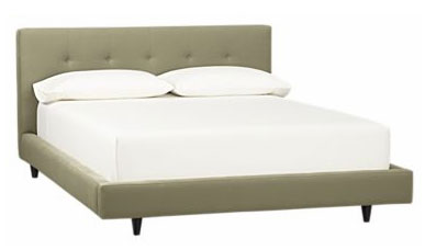 Crate & Barrel Tate bed on the cheap, $450. (Retails for $1299 + tax!)