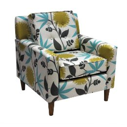 Clybourn Loft Upholstered Chair in Aegean, $429.99.