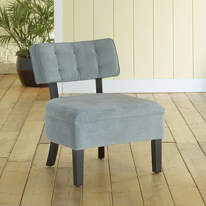 Logan Armless Chair, $129.99 (reg. $179.99).  Right now shipping is only $4.95 too!