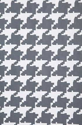 Skotti Wall Paper - Charcoal and Lavender, $