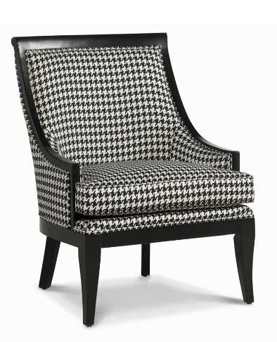 Preston Houndstooth Accent Chair, $299 (reg. $899)