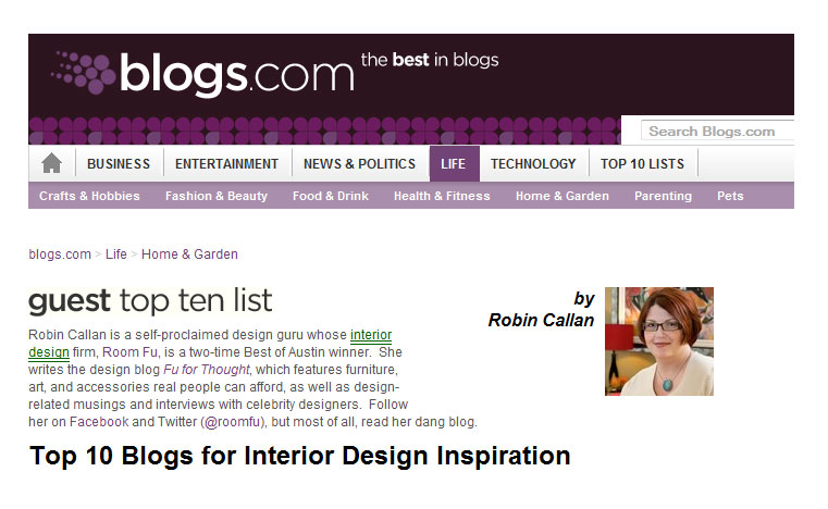 10 Best Blogs For Interior Design Inspiration