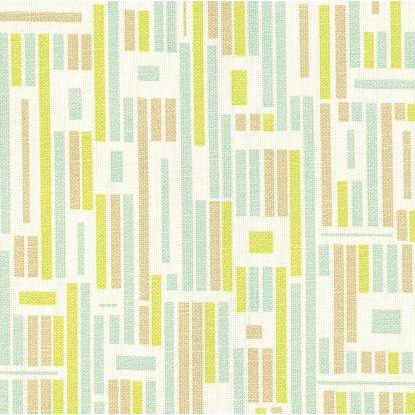 Gridlock fabric in aqua, $30/yard (reg. $60/yard)