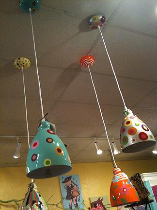 Spots pendant lights, $87.75