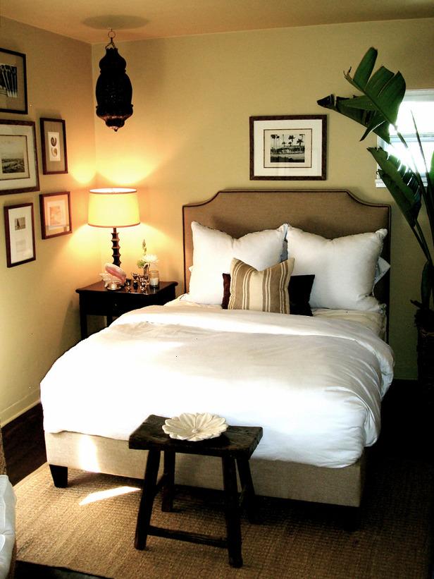 Bedroom designed by Trent Hultgren.