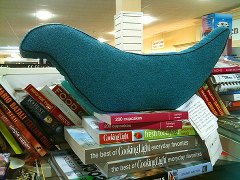 Bird pillow, on sale for $3. (reg. $4.99)
