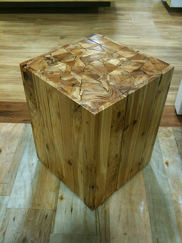 Cube table/stool, $39.99.
