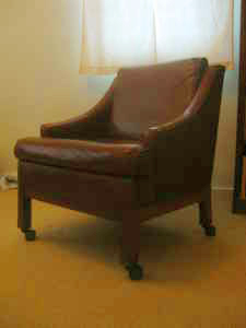 Prime reupholstery project, $30.