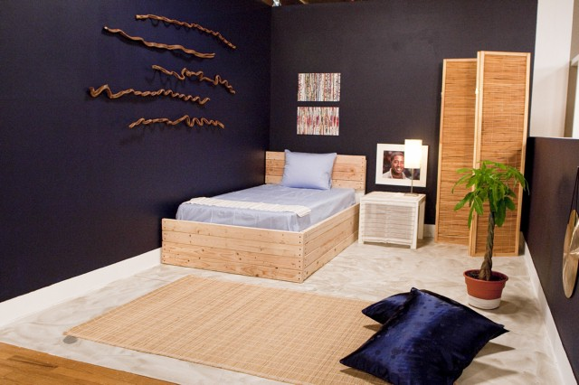 Casey Noble's bedroom design, inspired by Alex.