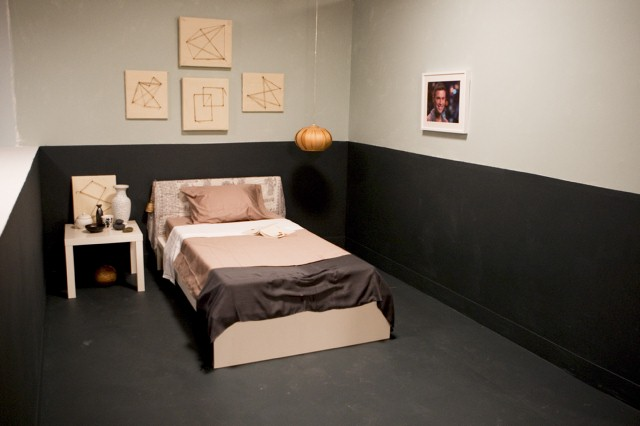 Emily Henderson's bedroom design, inspired by Michael.