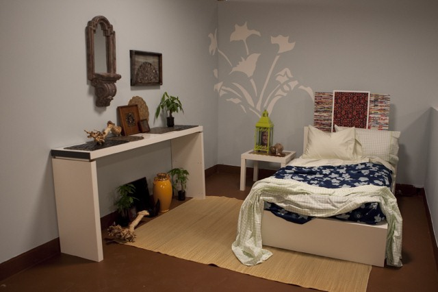 Michael Moeller's bedroom design, inspired by Emily.
