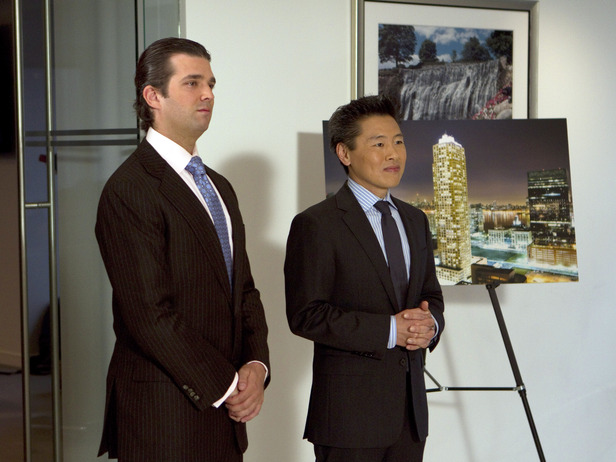 Donald Trump Jr. joins Vern Yip as guest judge.