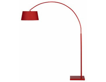Lantern arc floor lamp, $199.