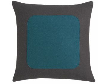 "Broadcast 16"" pillow, $29.95"